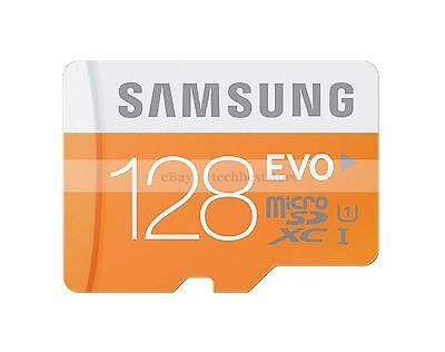 Samsung 128GB MircoSDXC EVO Flash Memory Card 128G 128 G GB Micro SD XC