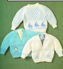 24fe8edfbad26e item 7 motif sweater and cardigan dk knitting pattern 99p -motif sweater  and cardigan dk knitting pattern 99p