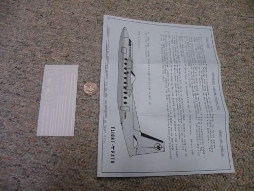 Flightpath decals 1//94 FP10-01 Northwest Airlines Fokker F27  Box 9