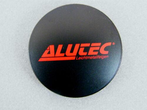 Original ALUTEC Nabenkappe 60 mm 64 mm schwarz rot N 32 Nabendeckel N32 Kappe