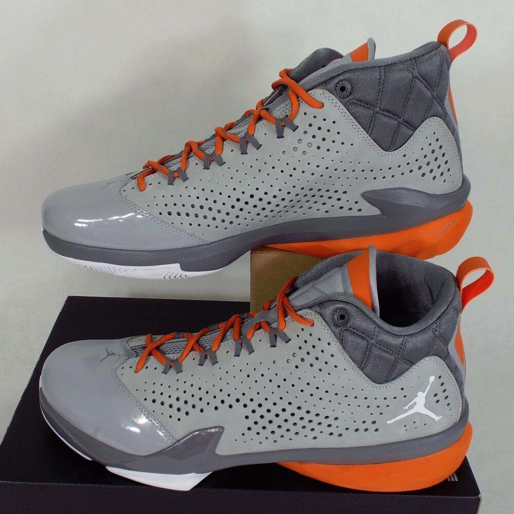 RARE SAMPLE NOUVEAU Homme 9 NIKE Jordan Flight Time 14.5 Grey Chaussures 130 654272-017 Chaussures de sport pour hommes et femmes