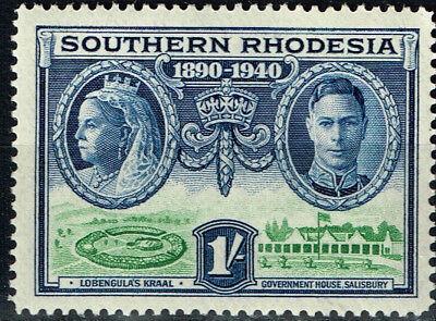 Briefmarken Kreativ Southern Rhodesia Lobengula's Kraal Briefmarke 1940 Mnh Stabile Konstruktion Architektur