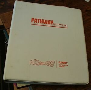 Details about Pathway Bellows Inc Flexway Expansion Joints 70s Era Catalog  Free US Shipping
