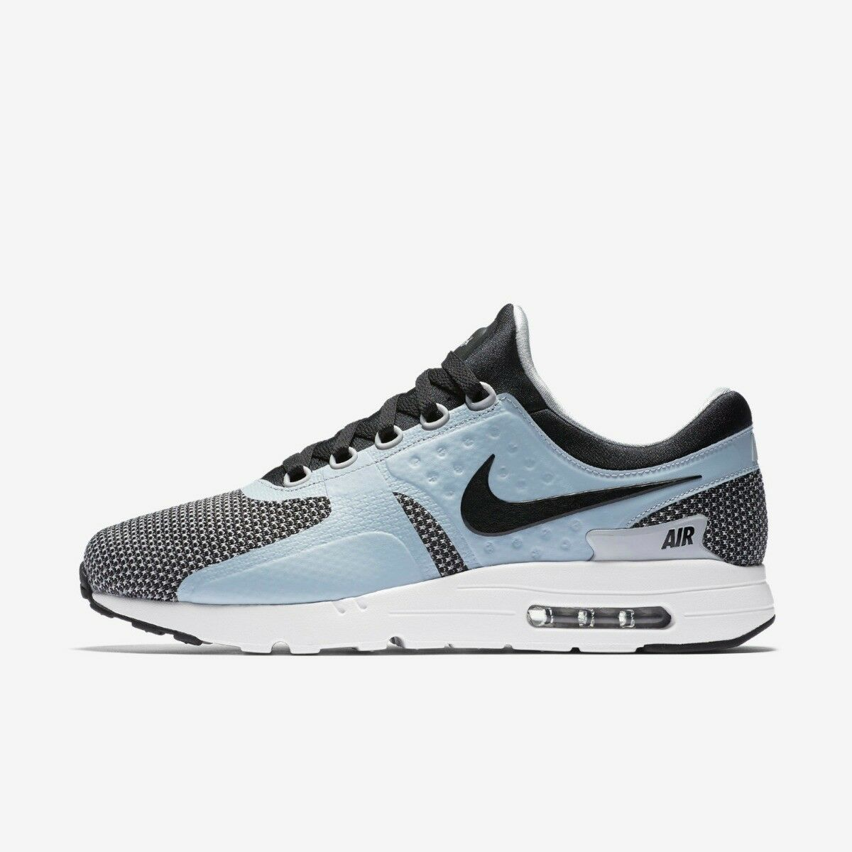 NIKE AIR MAX ZERO MENS RUNNING TRAINER SHOE SIZE 6 7 BLACK GREY RRP  -