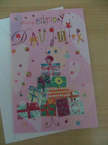 Turnowsky lot/'s of gifts American  Greetings Card Happy Birthday Daughter