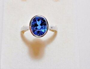 925-St-Silver-ring-Ceylon-blue-Quartz-M-P-S-T-V