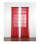SOLID-SHEER-WINDOW-1-PIECE-PANEL-CURTAIN-VOILE-MANY-COLORS-ROD-POCKET-84-034 thumbnail 15