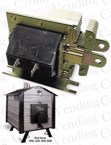Fits Many Drop-In Replacement Solenoid for Wood Master Wood Burning Furnace