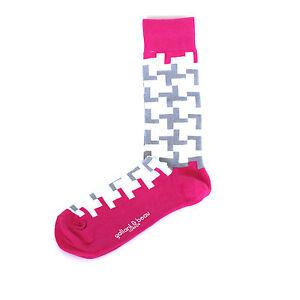 Gallant-amp-Beau-London-Mens-BRICK-LANE-Combed-Cotton-Socks-One-Size-NWT
