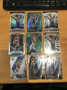 2019-20-Panini-Prizm-Matisse-Thybulle-Lot-of-22-Silver-Rookie-Card-290-Invest