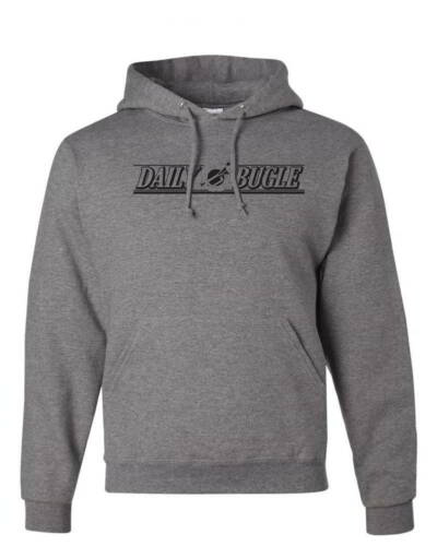 Daily Bugle Tabloid Spiderman Movie Gift Marvel Comics Mens Pullover Hoodies