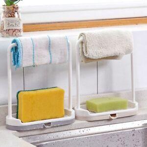 Kitchen-Storage-Rack-Holder-Sink-Drainer-Room-Shelf-Soap-Sponge
