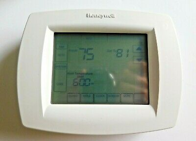 Used HONEYWELL 7-Day Programmable Touchscreen Thermostat TH8110U1003