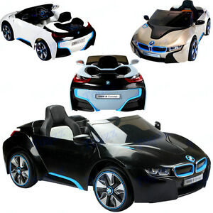 New Licensed Bmw I8 Ride On Toy Car 12v Twin Motor Parental Remote