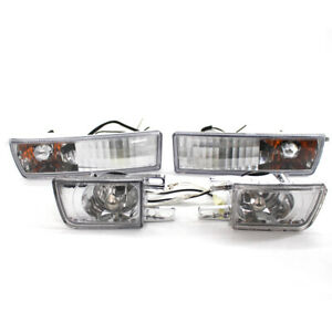 Front-Bumper-Fog-Lamp-Corner-Turn-Signal-Light-for-VW-Jetta-Golf-MK3-Vento-93-98