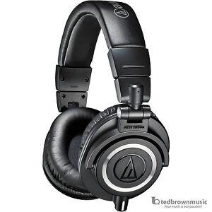 Audio-Technica-ATH-M50X-Professional-Monitor-Headphones-Black