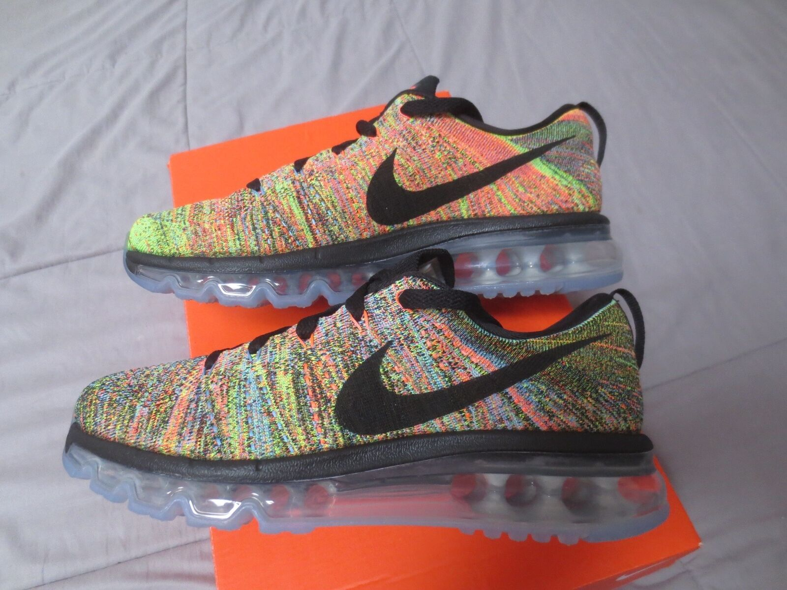 hot sale online 90a7f fbfa0 80%OFF Nike Air Max Flyknit 2016 Mens 360 Running Shoes size 8 New in