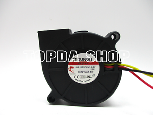 SUNON-GB1205PKV1-8AY-TURBO-Blower-Fan-PROIETTORE-DC12V-1-5W-50-50-20MM-3pin