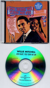 WILLIE MITCHELL Ooh Baby You Turn Me On 2009 US 12trk promo test CD Fat Possum - WE SHIP WORLDWIDE, United Kingdom - Returns accepted Most purchases from business sellers are protected by the Consumer Contract Regulations 2013 which give you the right to cancel the purchase within 14 days after the day you receive the item. Find out m - WE SHIP WORLDWIDE, United Kingdom