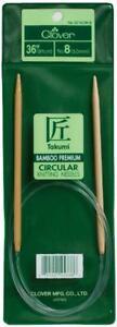 Clover-Takumi-Bamboo-Circular-36-Inch-Knitting-Needles-Size-6