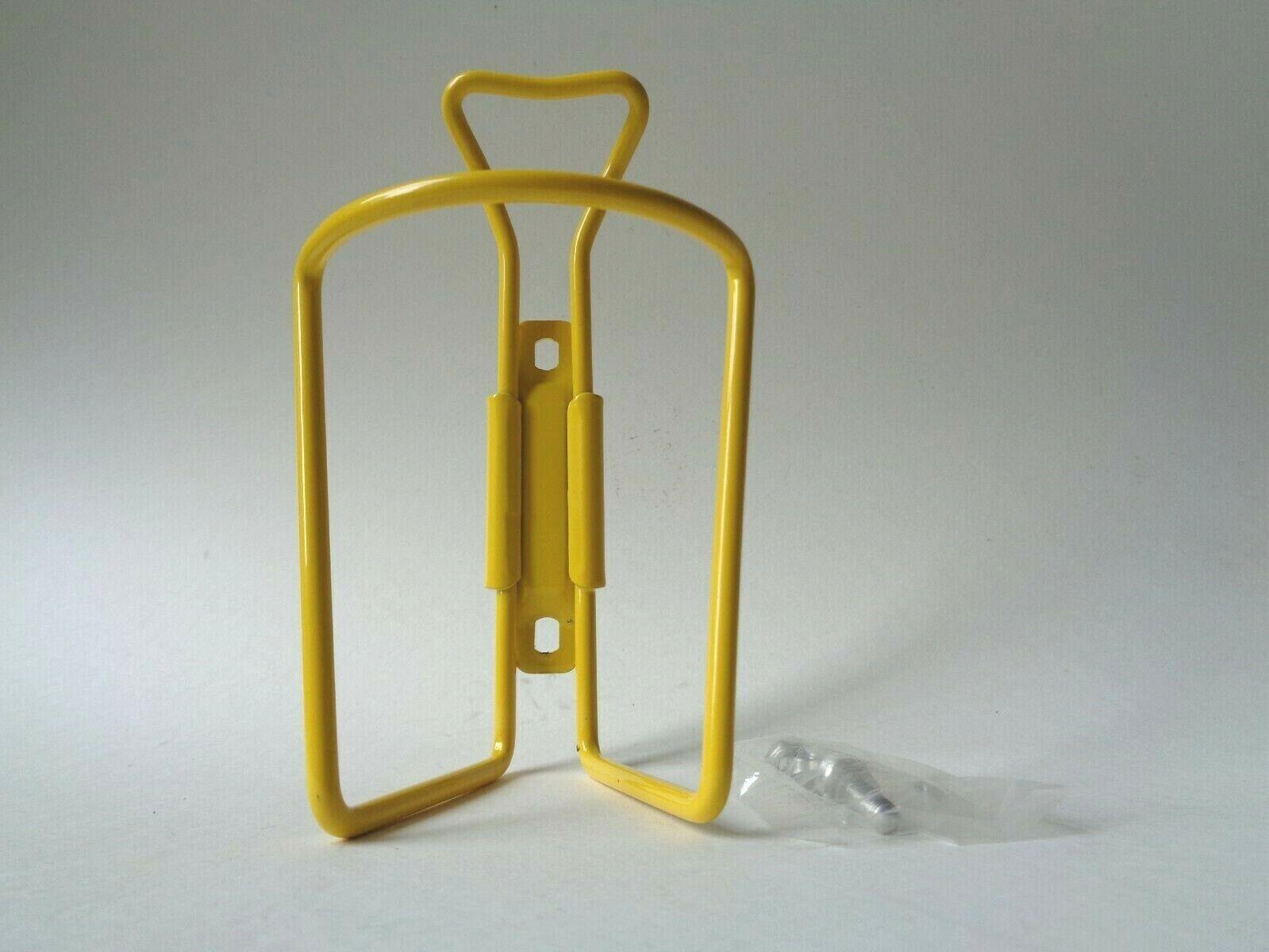 NOS Vintage  1980s OMAS Superleggera Alu Yellow water bottle cage holder  be in great demand