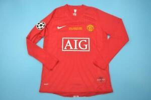 Manchester United Champions League Finale Camicia 07/08 - RONALDO 7 (GRANDE)