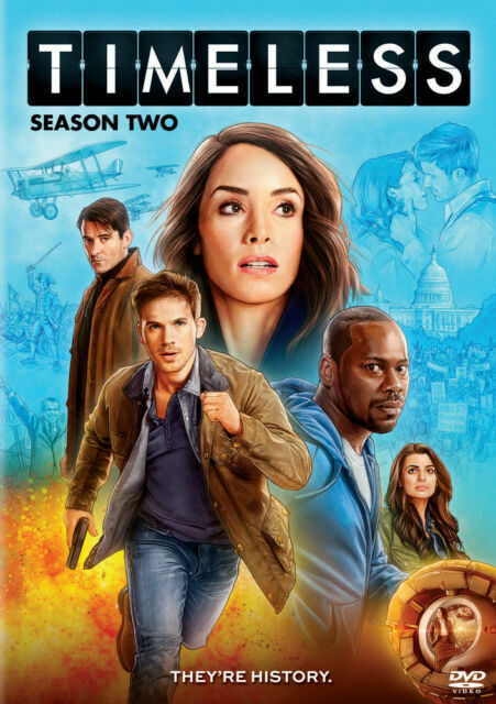 Timeless Tv Series Complete Season Two 2 Dvd For Sale Online Ebay