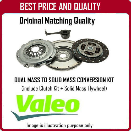 835075 GENUINE OE VALEO SOLID MASS FLYWHEEL AND CLUTCH  FOR OPEL ASTRA