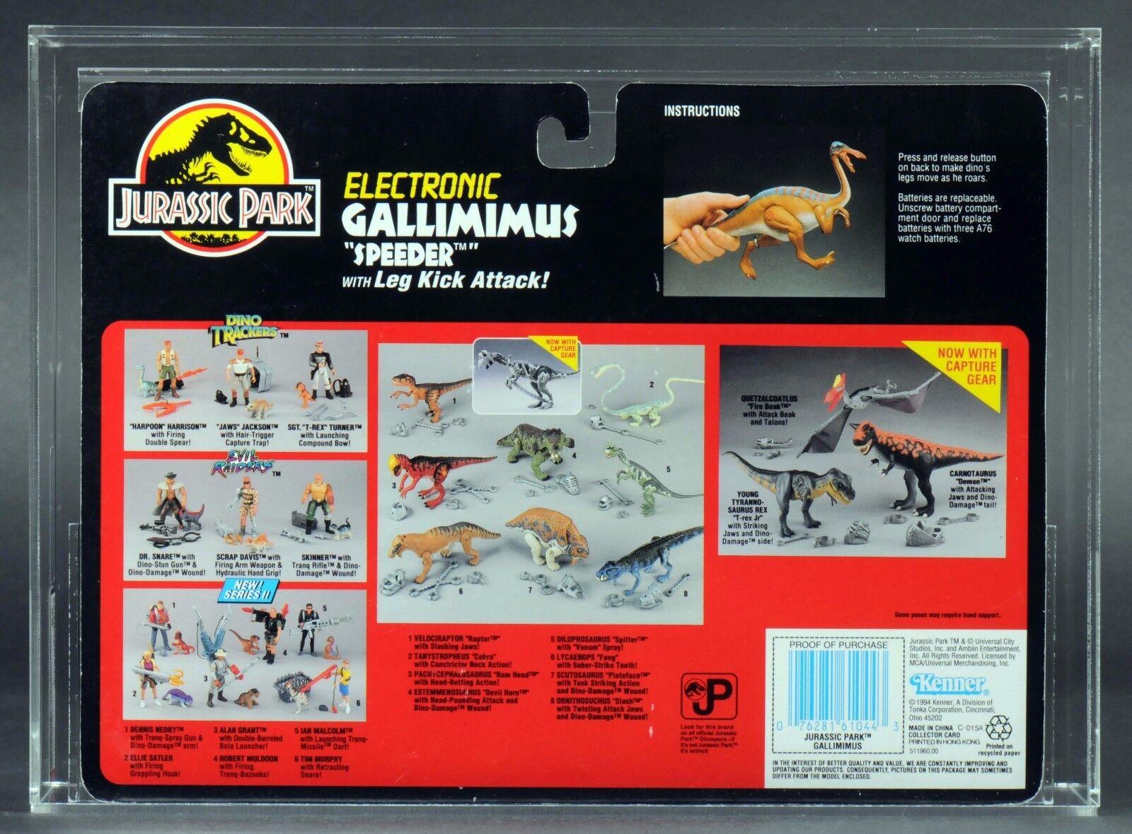 1994 Kenner Jurassic Park Electronic Gallimimus Speeder Series Series Series 2 AFA 85 MOC 198cc6
