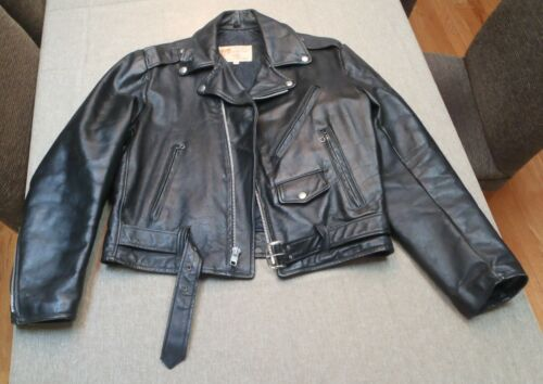 Vintage EXCELLED Leather Motorcycle Jacket