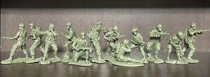 Plastique peloton guerre du Vietnam 25th division d'infanterie et 1st Cavalry Division 1:32