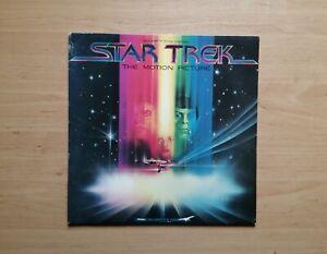 Star Trek - Vinyl LP Motion Picture Soundtrack Jerry Goldsmith 1979 UK CBS 7017