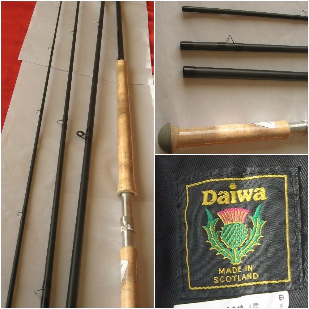 New Daiwa Scottish Made 13ft 6' 4 Piece Fly Rod LM-XF 13609-4  Lochmor 9AFT