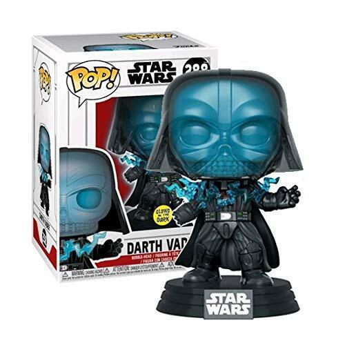 Star Wars-Darth Vader électrocuté Glow Pop Vinyle