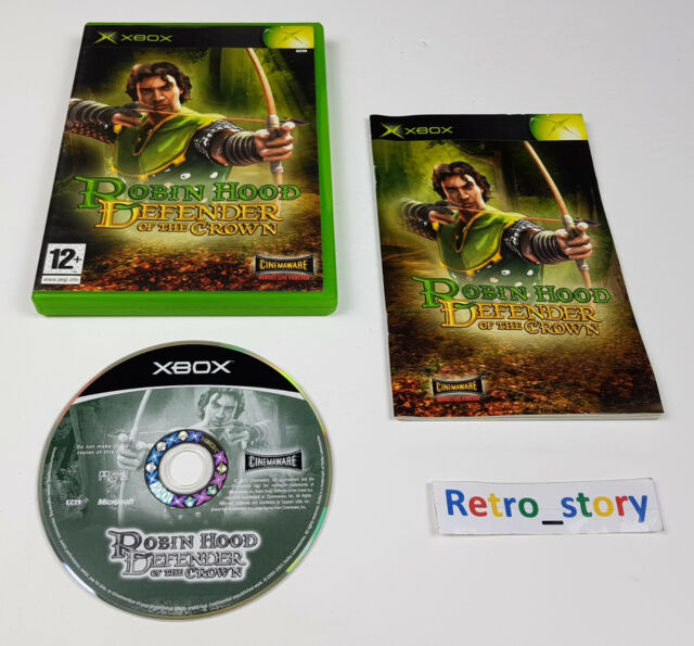 Microsoft Xbox - Robin Hood : Defender Of The Crown PAL