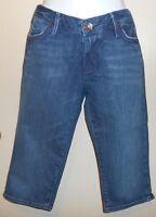 Bullhead Hermosa Junior Denim Capri Jeans Blue Thirteen (13)