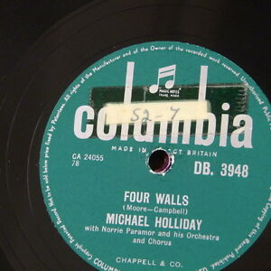 78rpm-MICHAEL-HOLLIDAY-four-walls-wringle-wrangle