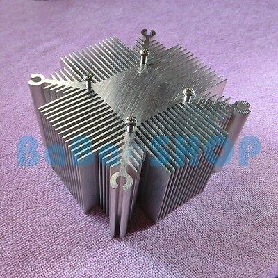 Square Aluminium Heat Sink F 20W 30W 50W 100W High Power LED Light Lamp Bulb COB