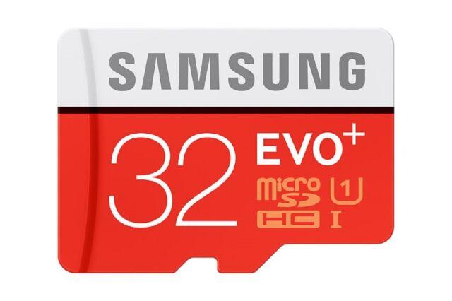 SAMSUNG MICRO SDHC EVO Plus 32GB 80MB 32G 32 G GB UHS-1 U1 C10 MEMORY CARD NEW