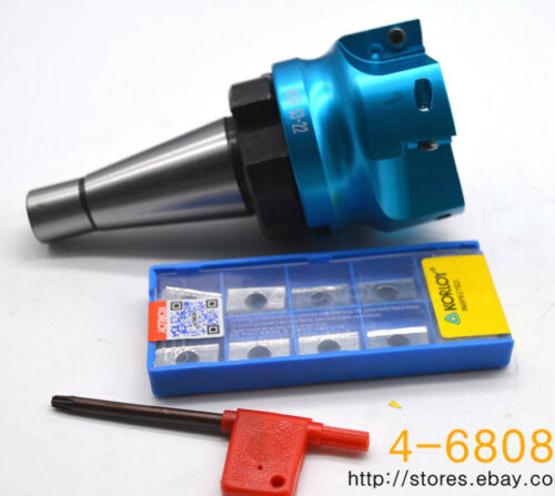 Al 400R-63-22-4F NT30 FMB22 CNC EndMill Cutter APKT1604PDFR-MA H01 × 10pcs
