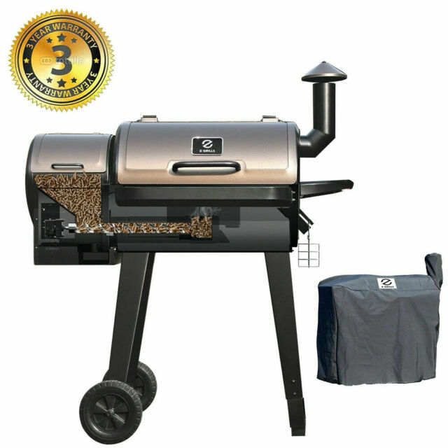 Z GRILLS Wood Pellet Grill and Smoker oven 8-in-1 Grill ...