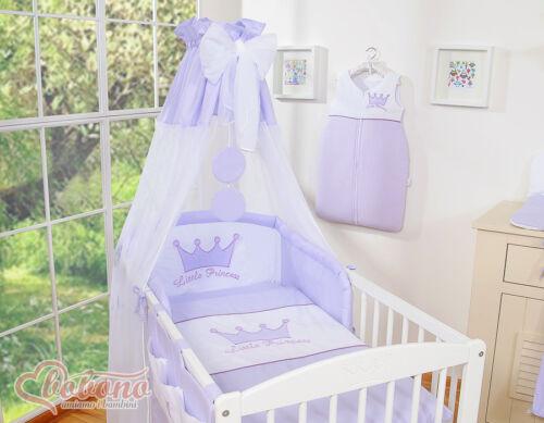 Little Prince//Princess Kinderbett Himmel aus Chiffon 10 Farben
