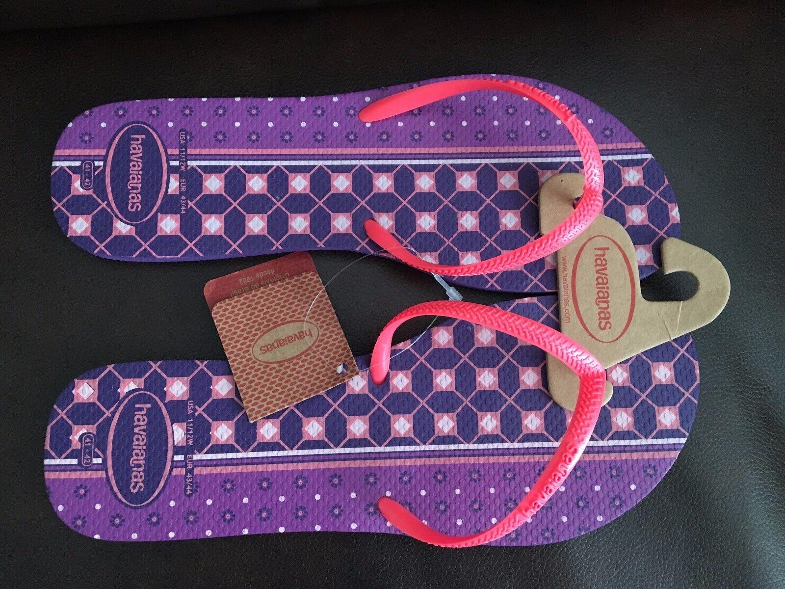 NEW Havaianas 'Slim' Women Flip Flop Sandal Women 'Slim' SZ 11 724eb3