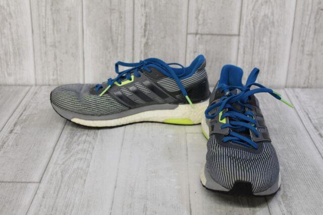1ab41570fa30 adidas Supernova M Running Shoes Gray Black Blue Ba9933 Men s Size ...