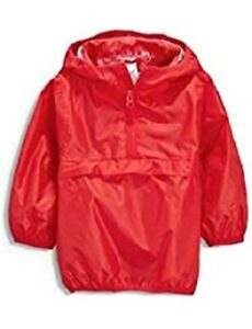 Next-Cag-in-Bag-Hooded-Raincoat-Red-Size-3-4