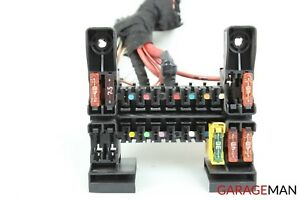 07-13 MERCEDES W221 S550 FRONT RIGHT DASHBOARD FUSE BOX ... on