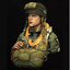 1-10-101st-Airborne-Division-World-War-II-rubber-figure-bust-uncoated-without thumbnail 2