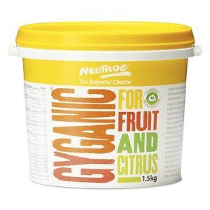 Neutrog 1.5kg Gyganic Fruit And Citrus