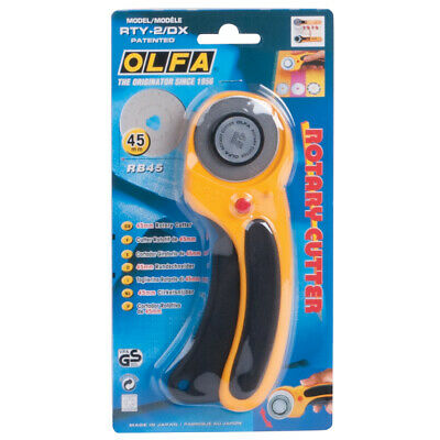 Olfa Rotary Cutter 45mm RTY-2//G Spare Replacement 45mm Blade
