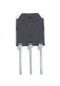 2SD716 Audio Amplifier from USA /' 2SB686
